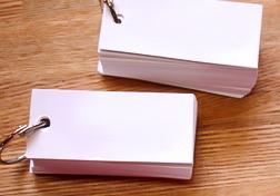 フラッシュカード(メモリーカード)で単語帳を作る